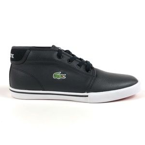Lacoste Ampthill LCR3 SPM LTH Black Shoes Sneakers